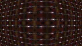 Abstrakter geometrischer Hintergrundkonvexer körper in der Mitte lizenzfreie abbildung