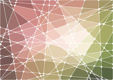 Abstrakter geometrischer Mosaikhintergrund Stockbild