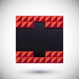 Abstrakter geometrischer Platz Abstrakte Form Stockbilder
