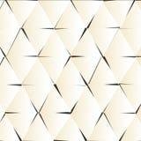 Abstrakter geometrischer vektorhintergrund Stockfotografie