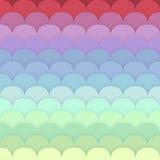 Abstrakter geometrischer Wellenmusterhintergrund Stockfoto