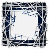 Abstrakter Geradepapier-Grafikhintergrund Vektor Abbildung