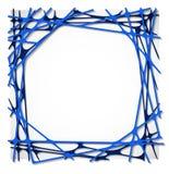 Abstrakter Geradepapier-Grafikhintergrund Stock Abbildung