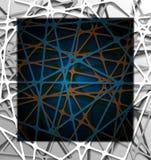 Abstrakter Geradepapier-Grafikhintergrund Stockfotos