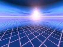 Abstrakter Geschäfts-Hintergrund Stockbild