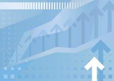 Abstrakter Geschäfts-Hintergrund (Abbildung) stock abbildung