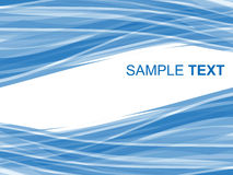 Abstrakter gestreifter Hintergrund in den blauen Tönen Lizenzfreies Stockfoto