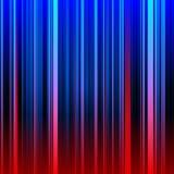 Abstrakter gestreifter roter und blauer Hintergrund Stockbild