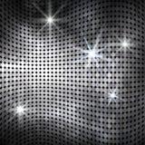 Abstrakter gewellter Mosaikhintergrund Lizenzfreie Stockbilder