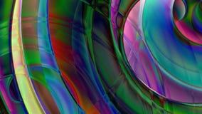 Abstrakter gewundener Prisma-Hintergrund lizenzfreie abbildung