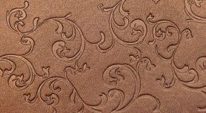 Abstrakter glänzender eleganter mit Blumenpapierhintergrund Lizenzfreies Stockbild