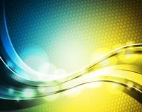 Abstrakter glänzender Hintergrund. Stockbild