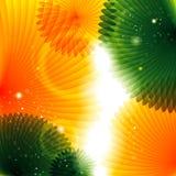 Abstrakter glänzender Hintergrund Stockbild