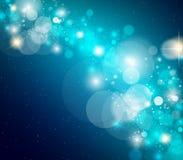Abstrakter glühender greller Glanz Stockbilder