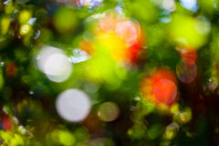 Abstrakter glühender Hintergrund Stockfoto