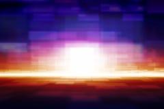 Abstrakter glühender Hintergrund stockbild