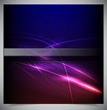 Abstrakter glühender Hintergrund Lizenzfreies Stockbild
