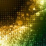 Abstrakter glühender Neonhintergrund Stockfoto