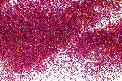 Abstrakter gl?nzender rosa Funkelnhintergrund lizenzfreies stockbild