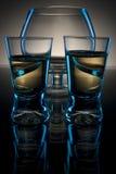Abstrakter Glasaufbau Lizenzfreie Stockbilder