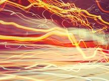 Abstrakter glühender Hintergrund Lizenzfreies Stockfoto