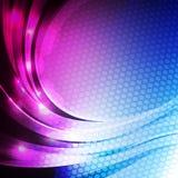 Abstrakter glänzender Hintergrund. Lizenzfreies Stockbild