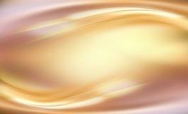 Abstrakter goldener Fluss Stockfotografie