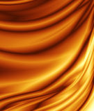 Abstrakter goldener Hintergrund Stockfotografie