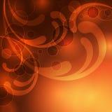 Abstrakter goldener Hintergrund Lizenzfreie Stockfotos