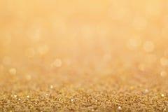 Abstrakter goldener Hintergrund Lizenzfreies Stockfoto