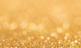 Abstrakter goldener Hintergrund Lizenzfreie Stockfotografie