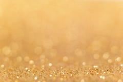 Abstrakter goldener Hintergrund Stockbilder