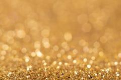 Abstrakter goldener Hintergrund Stockbild
