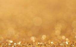 Abstrakter goldener Hintergrund Stockfoto