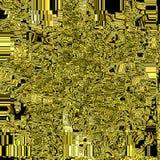 Abstrakter goldener Hintergrund des Geschäfts/der Technologie mit Gitter und Quadraten stockfotos