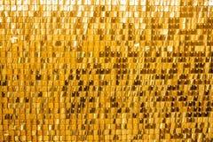 Abstrakter goldener Hintergrund von funkelnden Weihnachtslichtern lizenzfreies stockbild