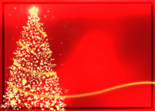 abstrakter roter weihnachtsbaum stockbilder bild 16528974. Black Bedroom Furniture Sets. Home Design Ideas
