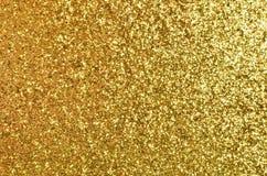 Abstrakter Goldhintergrund Stockbild