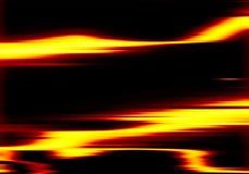 Abstrakter Goldhintergrund horizontale Linien und Streifen Stockfotos