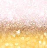 Abstrakter Goldhintergrund mit Beschaffenheit Lizenzfreie Stockbilder