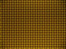 Abstrakter Goldhintergrund mit spinnt Lizenzfreie Stockfotos
