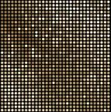 Abstrakter Goldmosaikhintergrund Stockfotografie