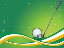Abstrakter Golf-Hintergrund stock abbildung