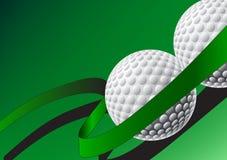 Abstrakter Golfhintergrund Stock Abbildung