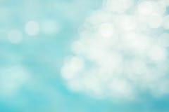 Abstrakter grün-blauer Unschärfehintergrund, tapezieren blaue Welle mit s Lizenzfreies Stockbild