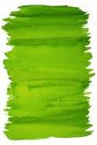 Abstrakter Grünaquarellhintergrund lizenzfreies stockfoto