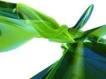 Abstrakter grüner/blauer Hintergrund Lizenzfreie Stockfotografie