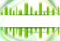 Abstrakter grüner Hintergrund vektor abbildung