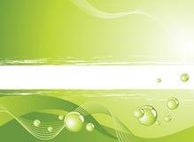 Abstrakter grüner Hintergrund Stockfotografie