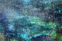 Abstrakter grüner Hintergrund der Kunst Stockfotos